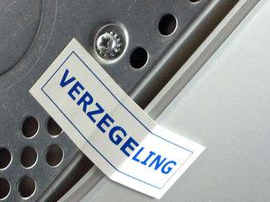 Verzegeling stickers